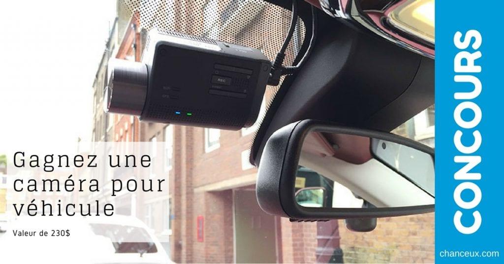 Gagnez une caméra pour véhicule Thinkware, de chez Best Buy