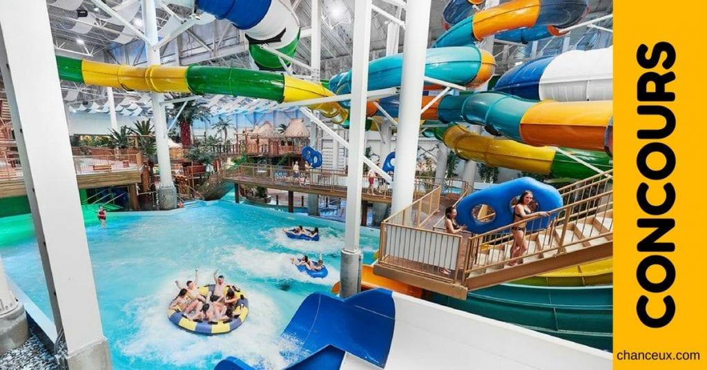 concours Village Vacances Valcartier Parc aquatique intérieur - Bora Parc