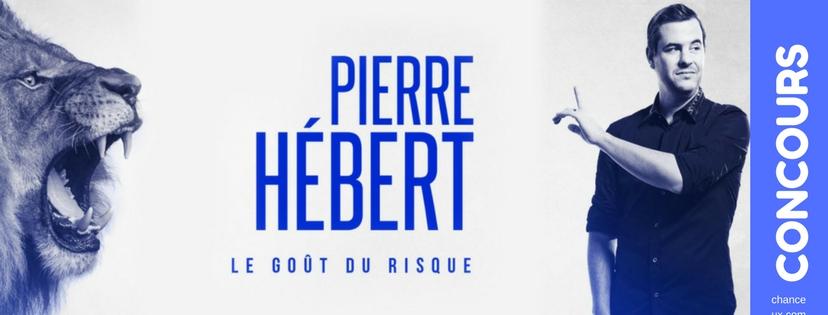 Gagnez des billets pour Pierre Hébert