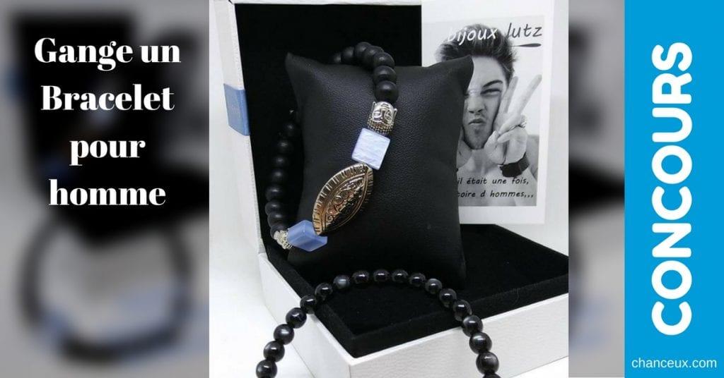 CONCOURS - Gagnez un bracelet pour homme de la nouvelle collection