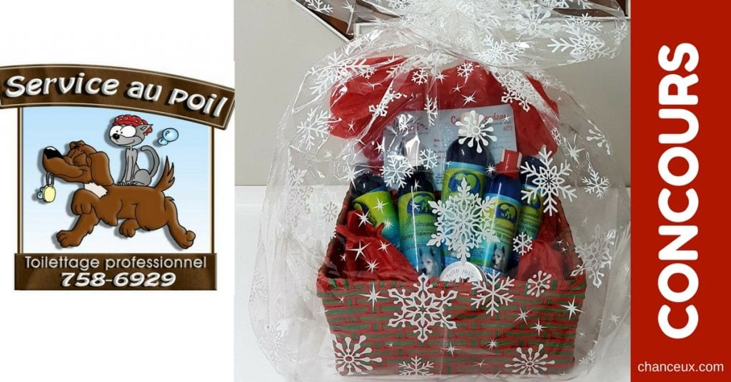 CONCOURS - Gagnez un panier cadeau pour chien ou chat!