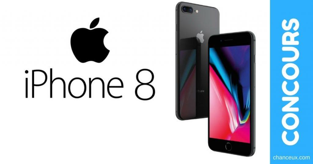 CONCOURS - Gagnez un téléphone Apple iPhone 8 Plus déverrouillé