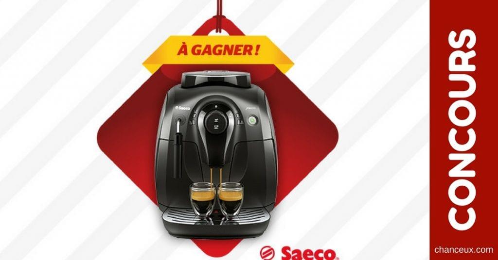 CONCOURS - Gagnez une machine à café Saeco d'une valeur de 599$