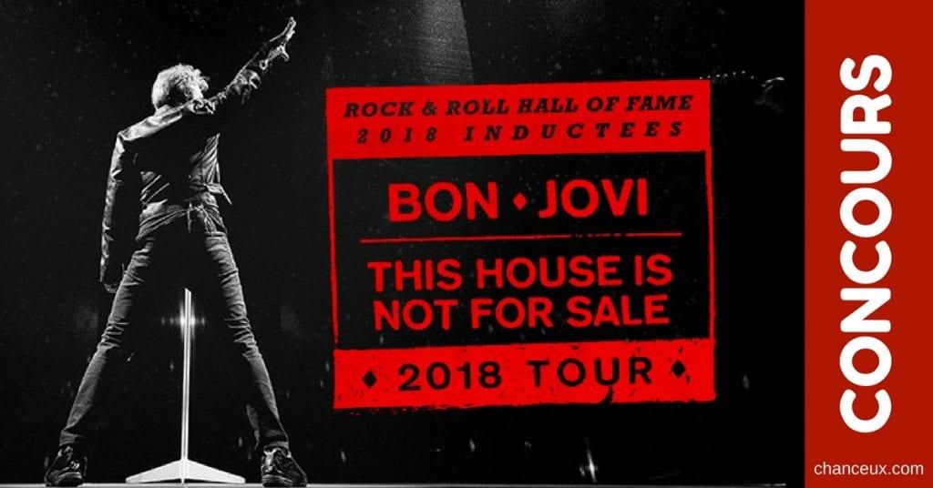 CONCOURS - Gagnez vos billets pour Bon Jovi au Centre Bell!