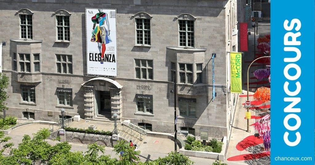 Courez la chance de gagner 4 entrées pour le Musée McCord de Montréal!