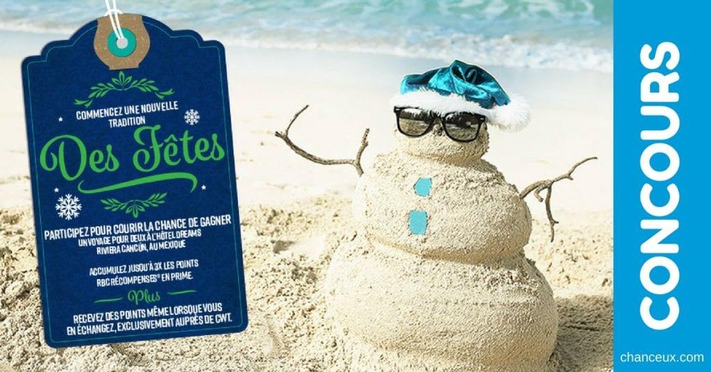 Gagnez des vacances pour deux à l'hôtel Dreams Riviera Cancún au Mexique