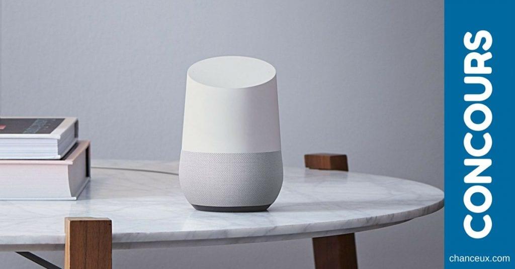 Gagnez un votre Google Home offert par Laliberté Électronique
