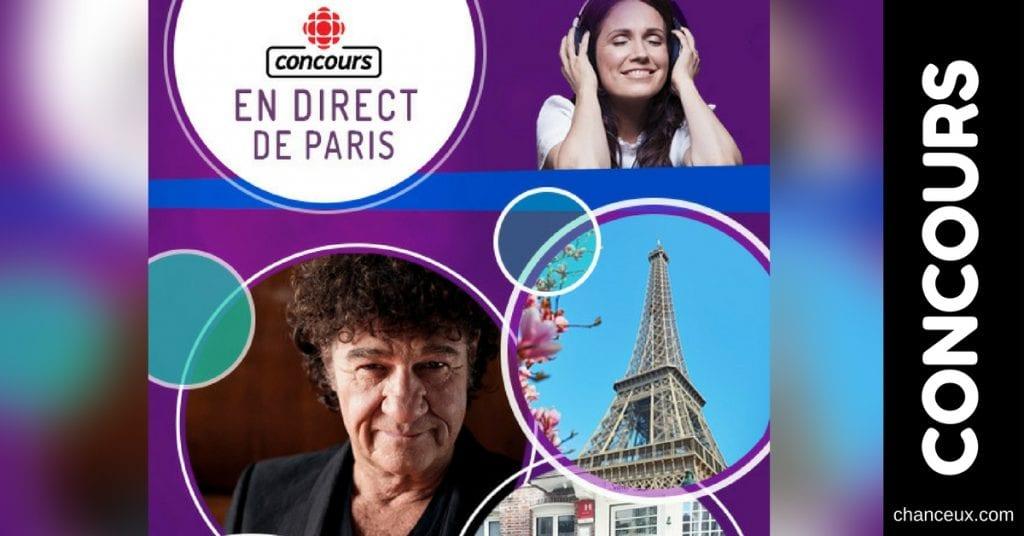 Gagnez un voyage à Paris pour voir Robert Chalebois en mode VIP