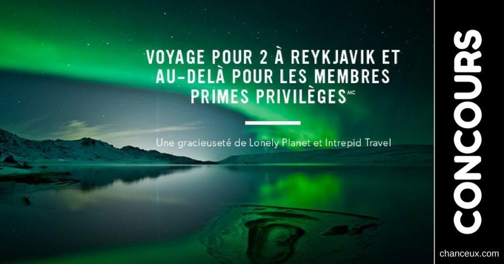 Gagnez un voyage à Reykjavik, l'une des plus belle ville du monde!