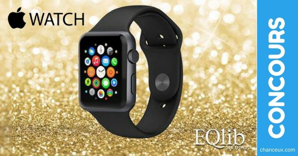 Gagnez une montre intelligente Apple Watch offert par EQlib Medispa
