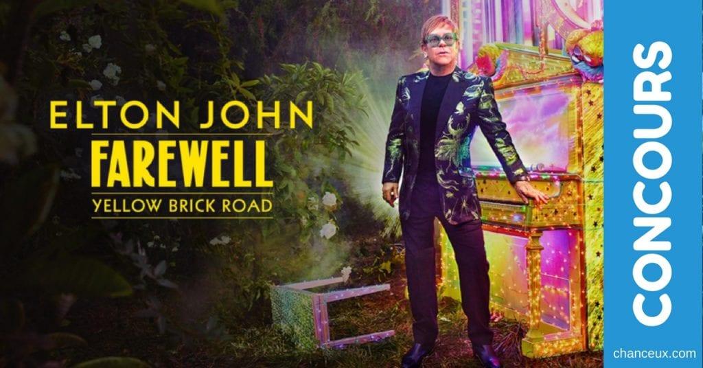 Gagnez vos billets pour Elton John au Centre Bell !