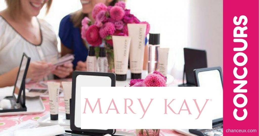 Gagne un certificat-cadeau de 50$ de produits et cosmétiques de MARY KAY