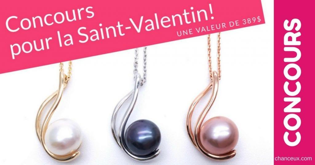 Gagne un magnifique bijou en or 14k pour la Saint-Valentin!