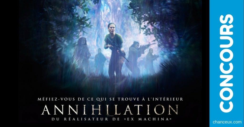 Gagnez une représentation spéciale à l'avance du film ANNIHILATION