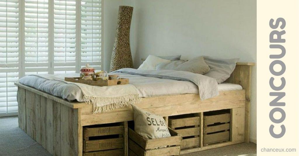 Gagnez l'ensemble de lit complet de votre choix!