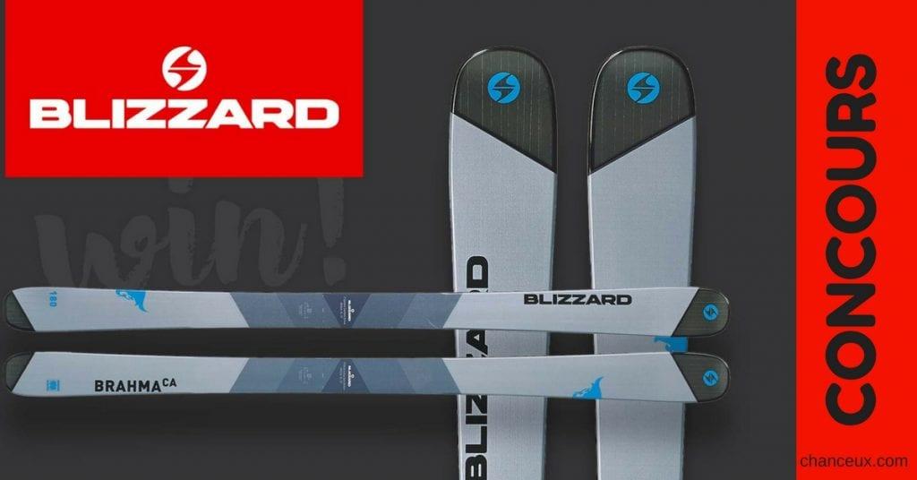 Gagne ta paire de ski de montagne!