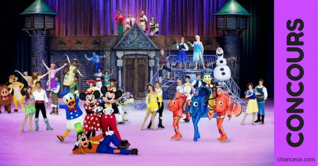 Gagnez 2 billets pour Disney sur glace