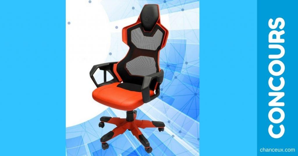 CONCOURS - Gagnez une magnifique chaise de jeu d'une valeur de 350$