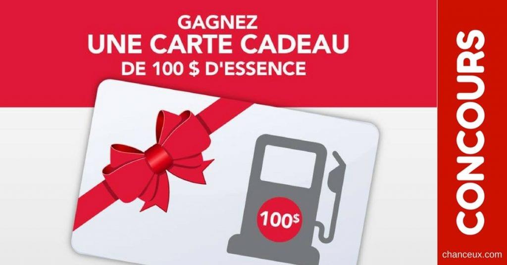 CONCOURS - Gagnez 100$ d'essence