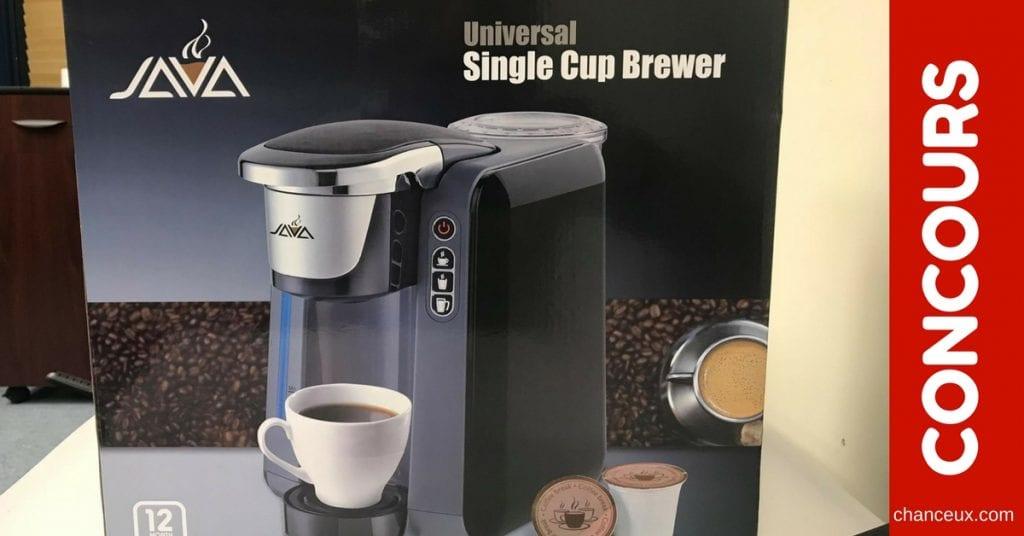CONCOURS - Gagnez une cafetière compatible avec les K-cups!