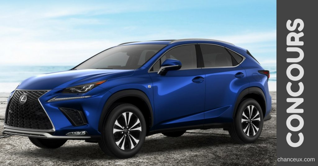 gagnez une voiture de r ve une toute nouvelle lexus nx 300 2019. Black Bedroom Furniture Sets. Home Design Ideas