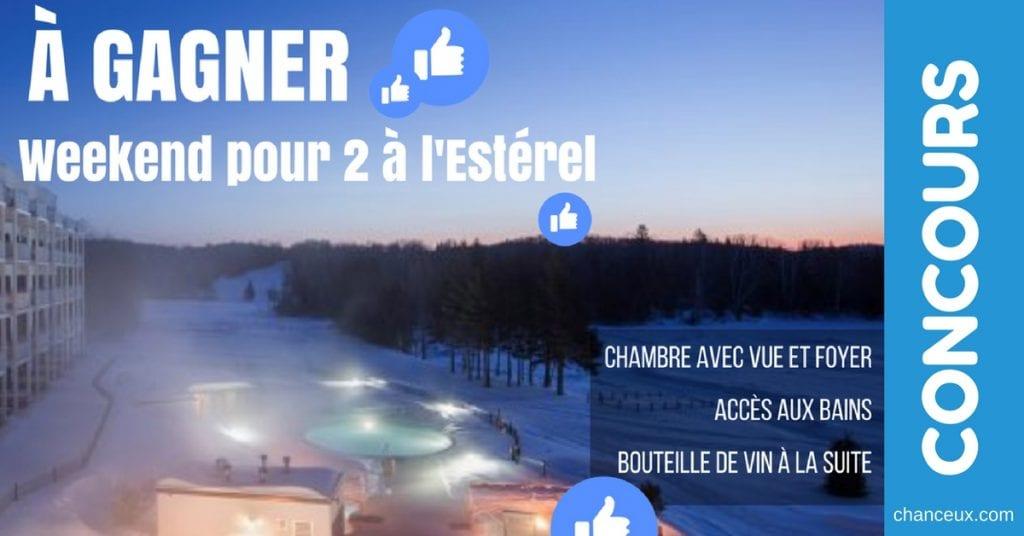 CONCOURS - Gagnez un Weekend pour 2 à l'Estérel