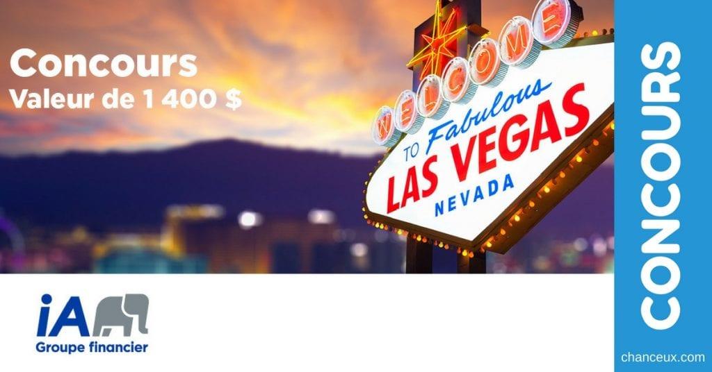 CONCOURS - Gagnez Un voyage pour 2 à Las Vegas