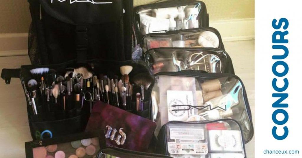 CONCOURS gagner une valise avec tout le maquillage professionnel