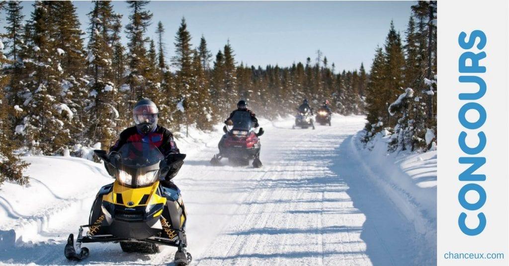 Gagnez Une Excursion hivernale ta gang, ta ride, ton film
