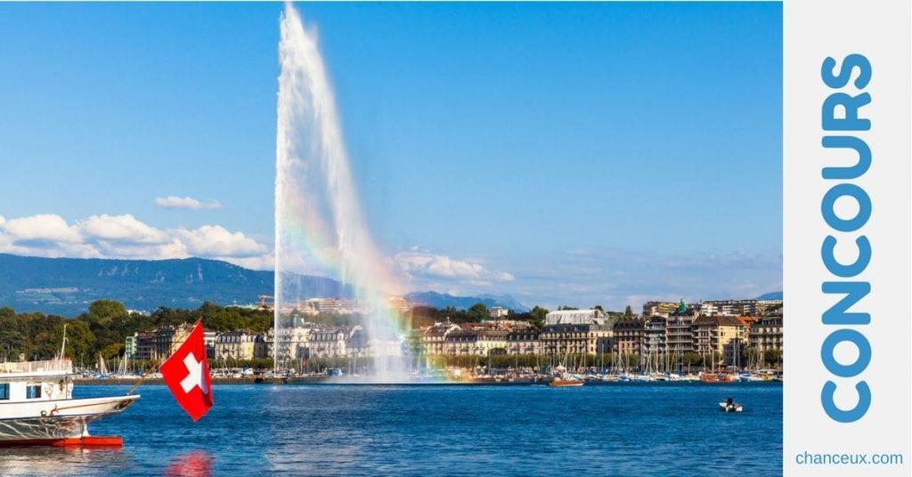 Gagner un bon cadeau Genève Tourisme d'une valeur de 2018,00 CHF