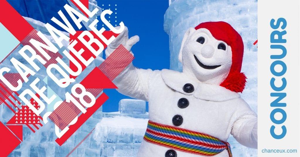 Gagnez un voyage en famille pour le Carnaval de Québec!