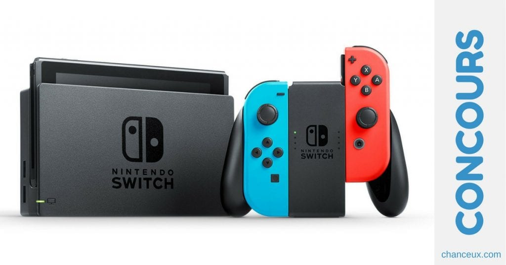 Gagner une console Nintendo Switch