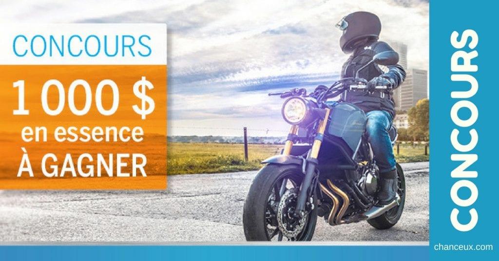 Concours « 1 000 $ en essence à gagner !