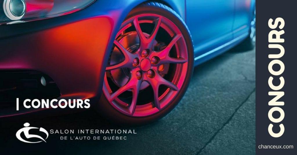 Gagnez 2 essais routiers VIP d'une voiture de luxe pour 2 personnes ainsi que 10 paires de Billets pour le Salon international de l'auto 2018 !
