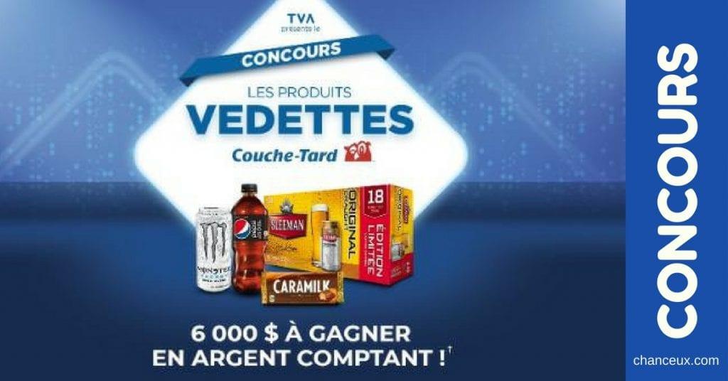 Gagnez 6 000$ en argent comptant grâce a TVA!