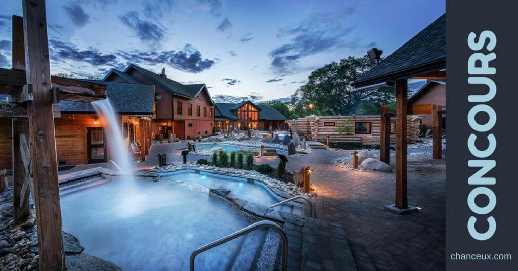 Gagnez une expérience thermale pour deux personnes au Nordik Spa-Nature / Chelsea!
