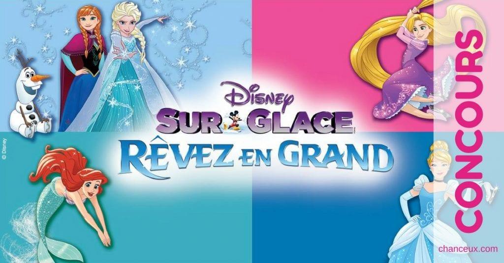 Gagnez quatre billets pour le spectacle de Disney sur glace !