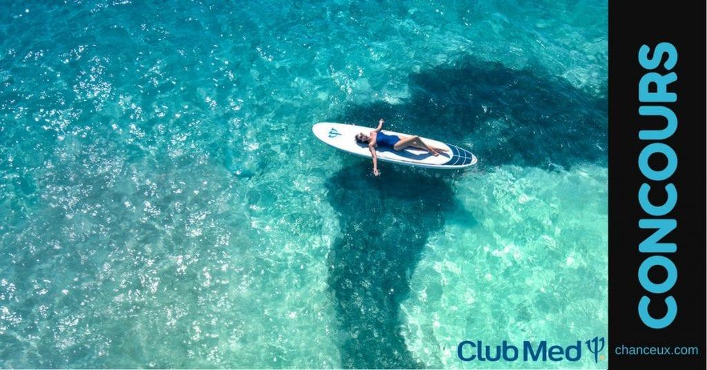 Gagnez un Voyage tout inclus pour 2 au Club Med Resort de votre choix!