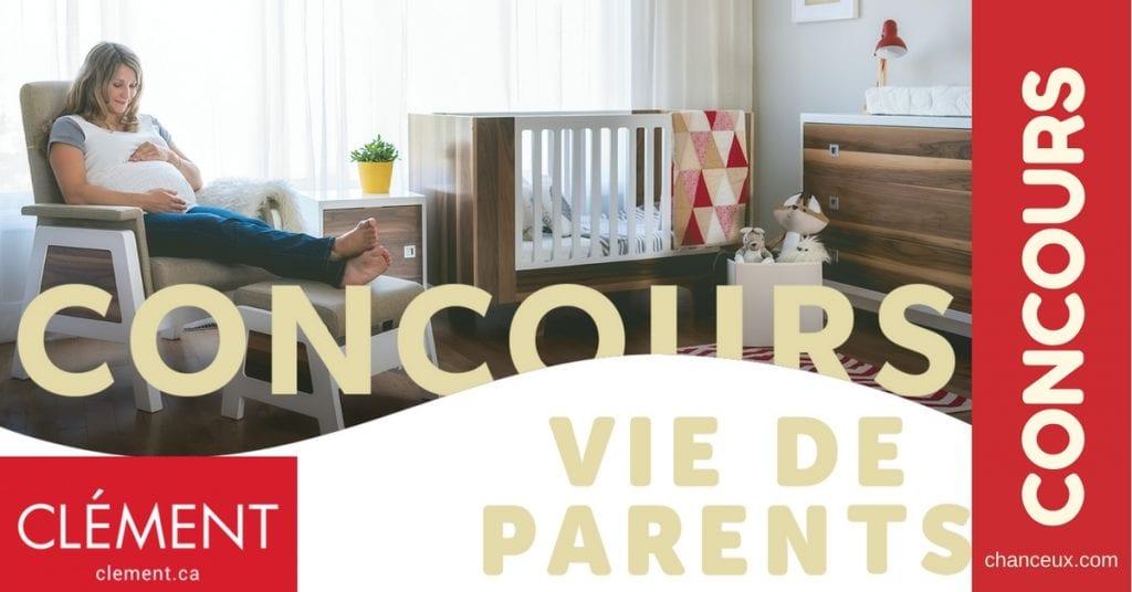 Gagnez une carte-cadeau Clément de 1000$ pour équilibrer votre famille!
