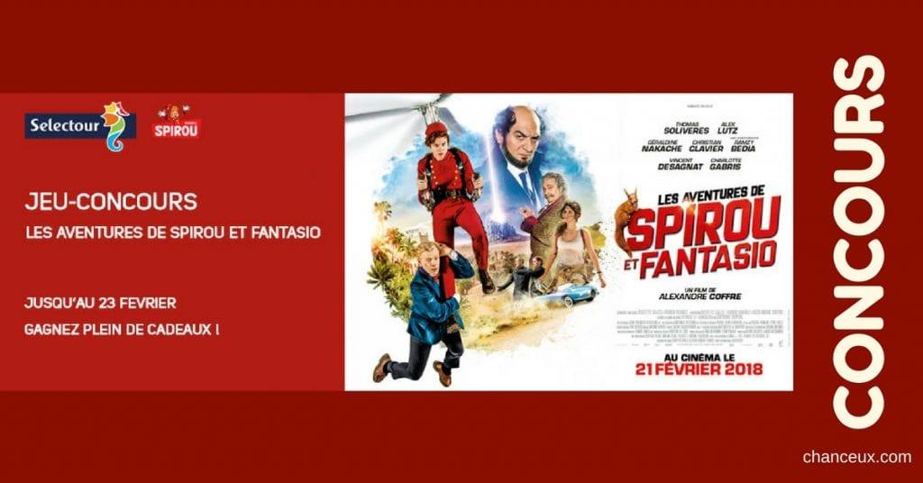 Gagnez des entrées pour le Parc Spirou et pour le cinéma