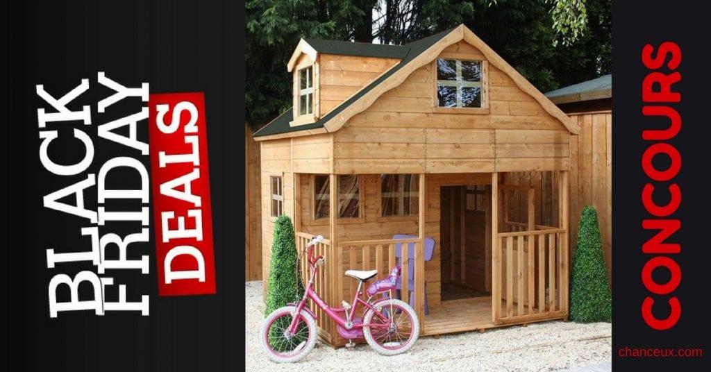 Gagnez cette magnifique cabane pour vos enfants !