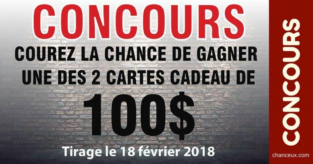 Concours Québec - une des 2 cartes cadeau Pétro-Canada de 100$
