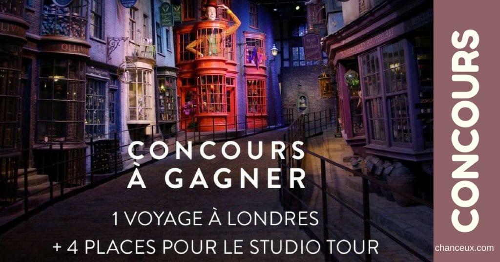 Gagnez un voyage à Londres et 4 places pour le Studio Tour !