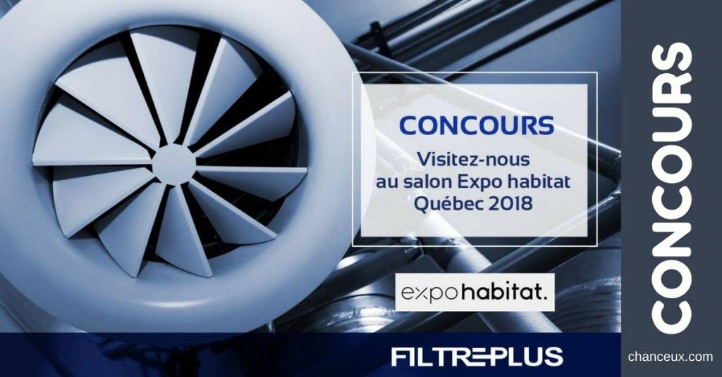 Gagnez une paire de billets pour le salon Expo habitat Québec 2018 !