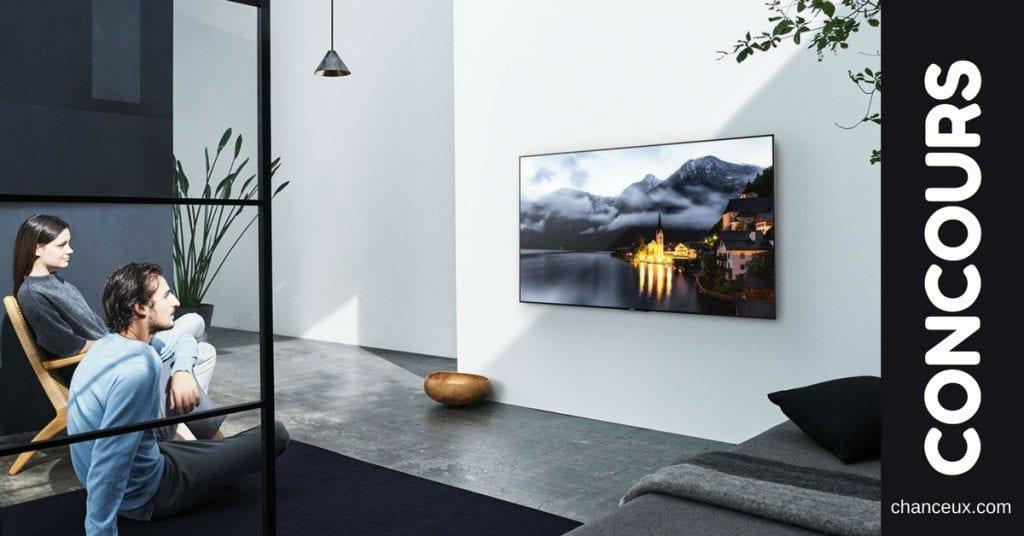Gagnez un nouveau téléviseur 4K de Sony !