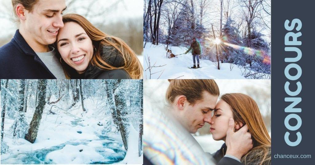 Gagnez une séance photo en couple incluant 15 fichiers retouchés!
