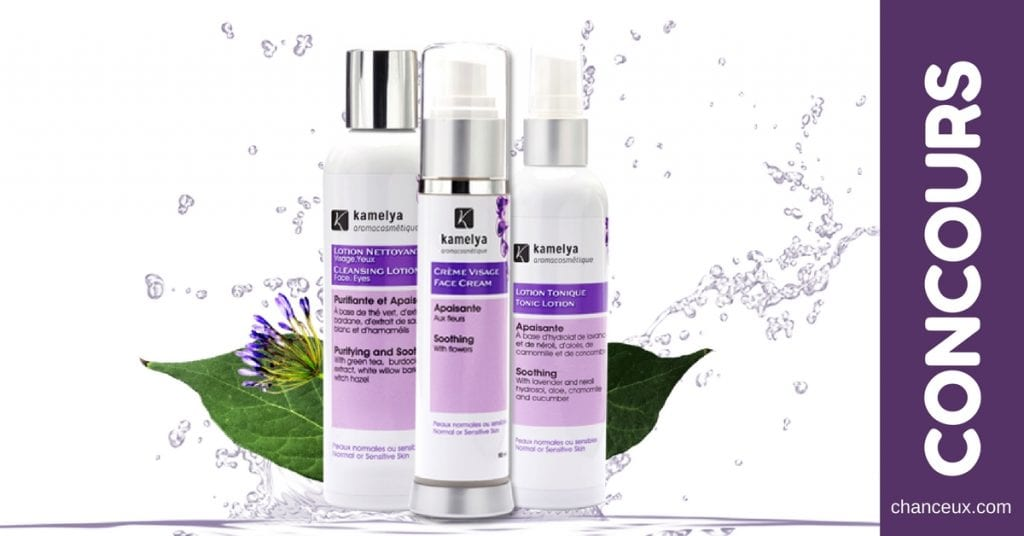 Gagnez un trio de cosmétiques 100 % naturels