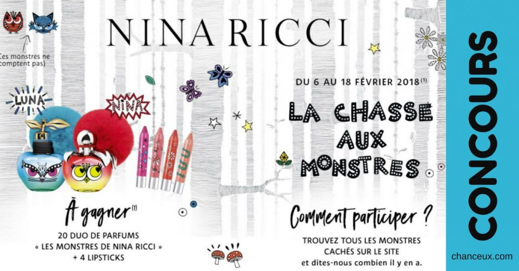 4 Rouges Nina Ricci À Lèvres 2 Et Parfums Gagnez 35jq4LAR