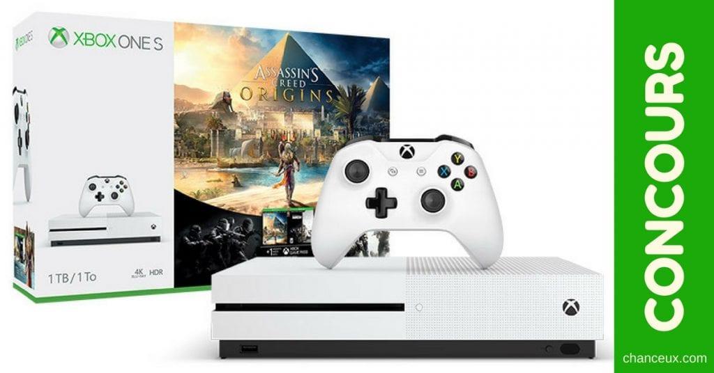 Gagne un Xbox One S avec Assasins Creed !