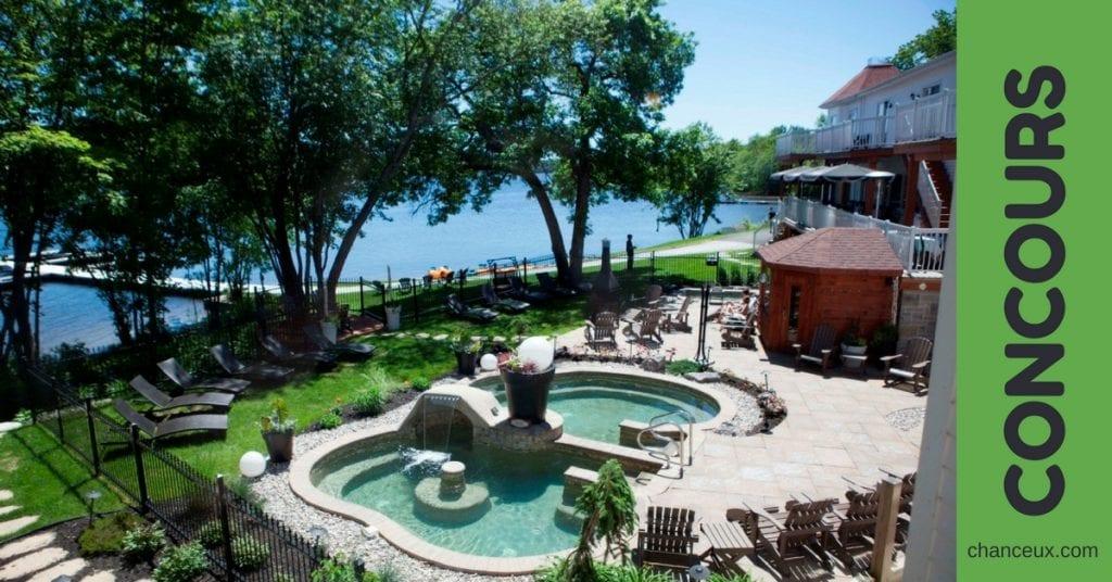 Gagnez 1 nuitée en chambre supérieure pour 2 personnes au Manoir du lac William !